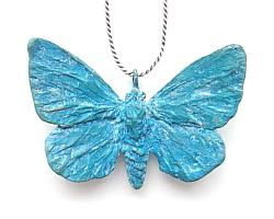 Adonis Butterfly Pendant