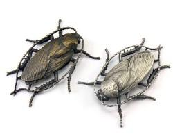 The HEXAPODA Collection - Blattodea Insect Jewelry