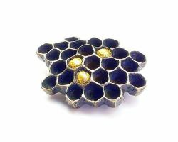 Honeycomb Brooch