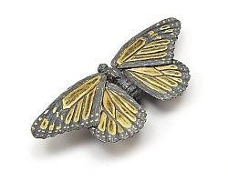 Monarch Butterfly - Brooch
