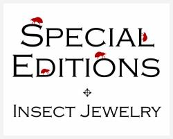 The HEXAPODA Collection - Special Edition Insect Jewelry