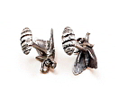 Tiger Moth Cuff Links