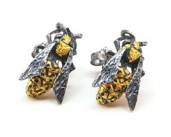 Yellow Jacket - Earrings